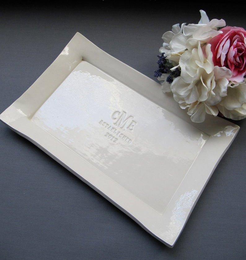 Wedding Platter Alternative Guest Book