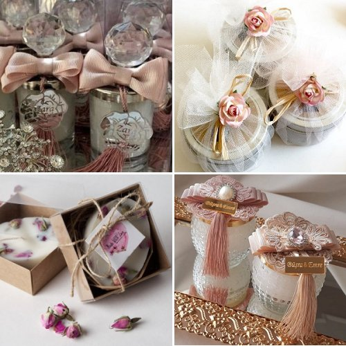 Handmade Candle Favors