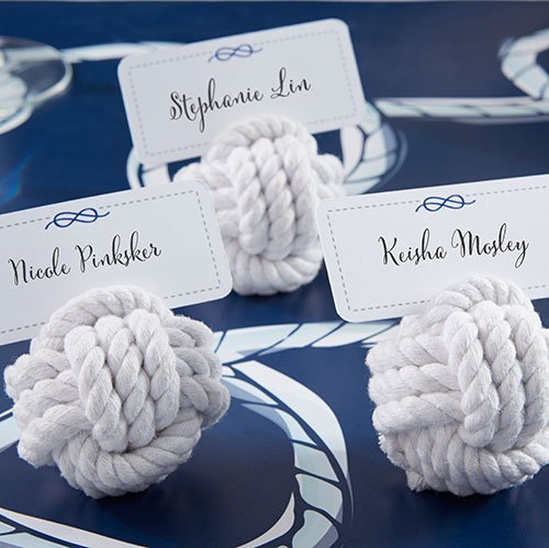 Bridal Shower Nautical Rope Place Card Holders