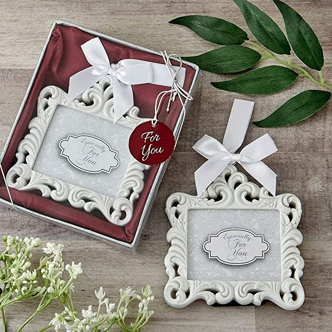 Baroque Picture Frame Wedding Favors
