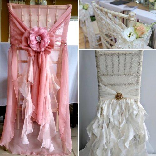 Exquisite Wedding Chair Cover Decor Ideas