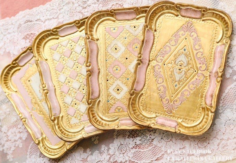 Baroque Rococo Trays