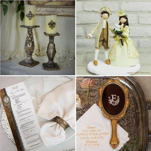 Ornate Baroque Style Wedding