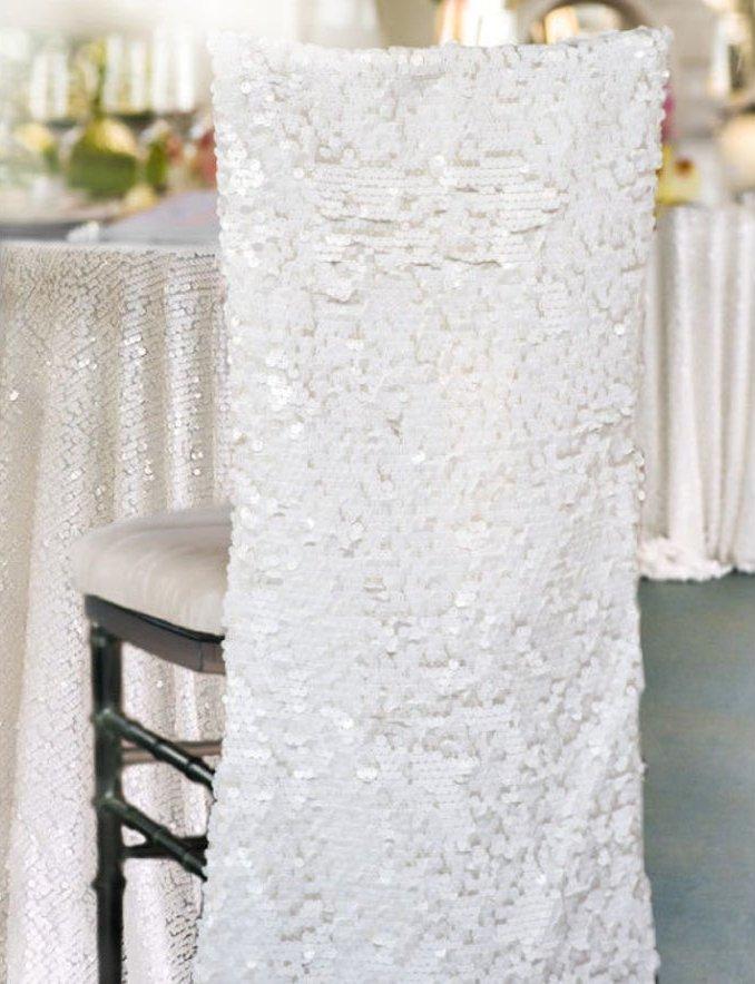 Sequin Chiavari Wedding Chair Decor