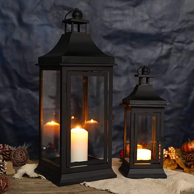 Vintage Style Decorative Black Wedding Lanterns