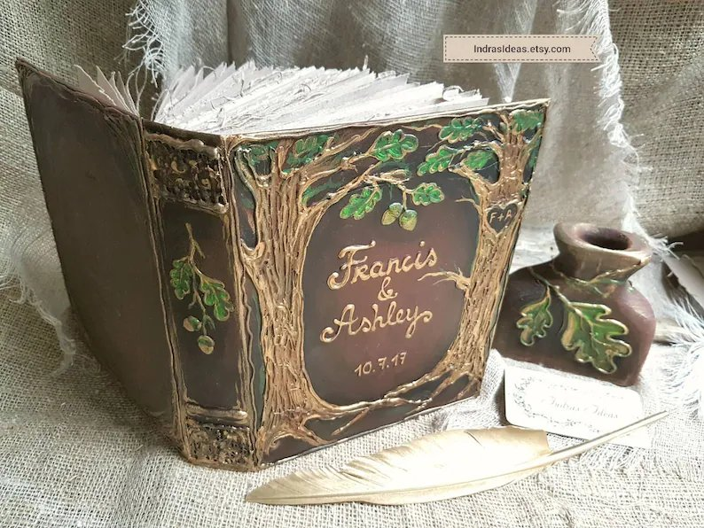 Enchanted Forest Wedding Guest Book